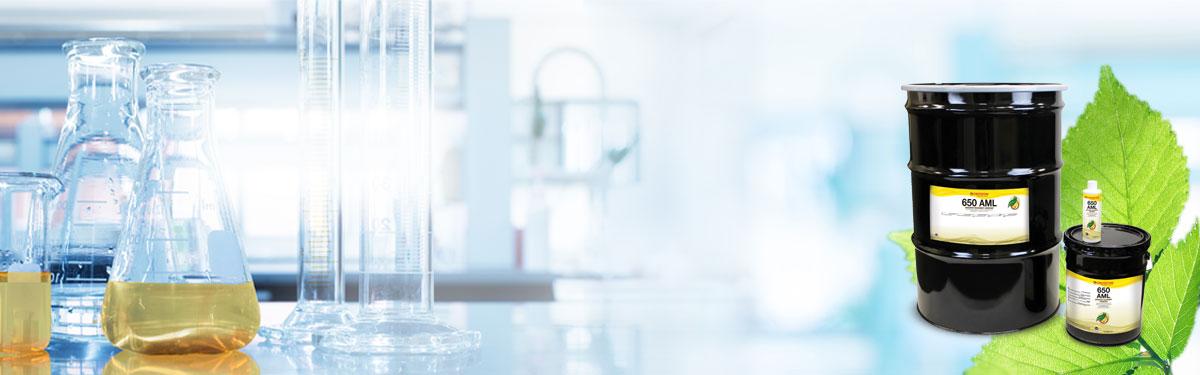 Das biologisch abbaubare 650 AML verlängert die Lebensdauer Ihrer Anlagen durch signifikante Reduzierung von Verschleiß.
