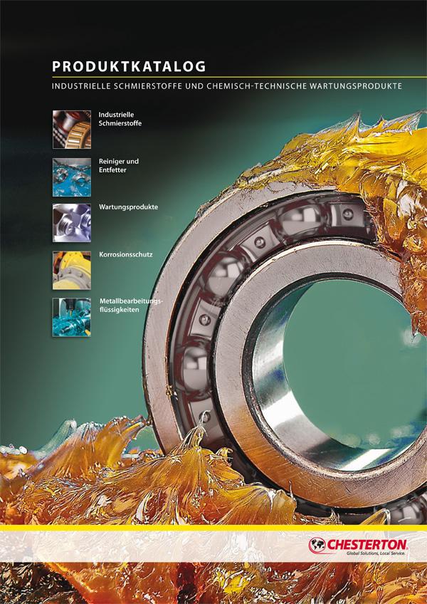 AW Chesterton industrielle Schmierstoffe und chemisch-technische Wartungsprodukte Katalog-Titel