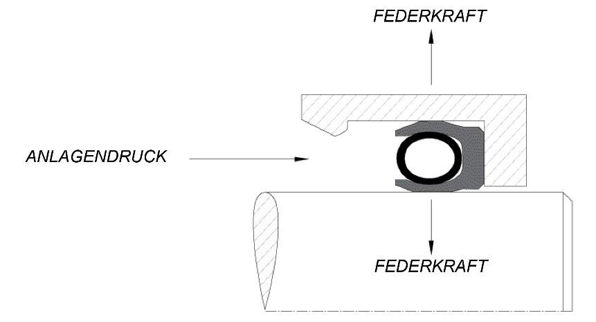 Wie funktionieren federvorgespannte Dichtungen?